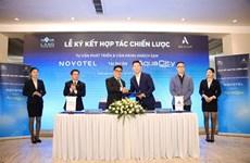 Coopération entre Novaland et Accor pour exploiter l'hôtel Novotel à Aqua City