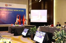 Visioconférence des hauts fonctionnaires de l'ASEAN + 3