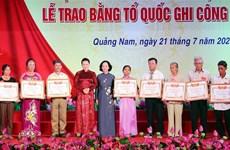 La présidente de l'AN rend hommage aux mères héroïnes et aux martyrs