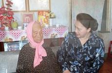 La présidente de l'AN effectue une visite de travail à Ba Ria-Vung Tau
