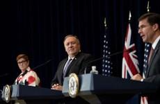 L'AUSMIN 2020 dénonce les revendications territoriales de la Chine