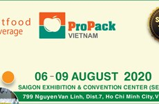 Bientôt Vietfood & Beverage - Propack Vietnam à Ho Chi Minh-Ville