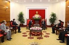 Le Vietnam souhaite renforcer son partenariat avec l'Inde