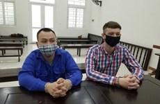 Un Vietnamien et un Ecossais emprisonnés pour trafic de drogue