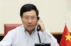 Vietnam-Etats-Unis : conversation téléphonique entre les chefs de la diplomatie