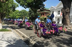 À Huê, le tourisme veut se remettre en selle grâce au vélo
