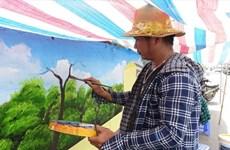 Hanoï : à Phuc Tho, les murs revêtent de nouvelles fresques