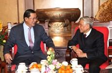 """L'ancien secrétaire général Lê Kha Phiêu, """"dirigeant clairvoyant et bon ami du Cambodge"""""""