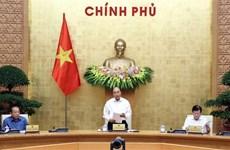 Le PM préside une réunion du gouvernement sur des projets de loi