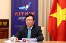 Le Vietnam au débat sur les pandémies et les défis du Conseil de sécurité