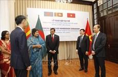 Le Vietnam aide le Bangladesh et le Sri Lanka à combattre le COVID-19