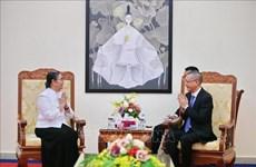 Le Cambodge rend hommage à l'ambassadeur du Vietnam