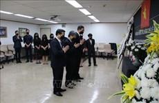 Cérémonies d'hommage à Lê Kha Phiêu à l'étranger