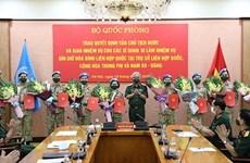 Dix autres officiers affectés à l'opération de maintien de la paix de l'ONU