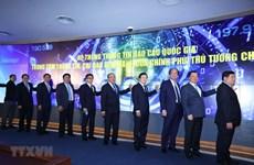Inauguration du Système national d'information