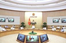 Le PM demande de redoubler d'efforts pour soutenir la reprise socio-économique
