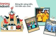 La campagne encourage les enfants à s'amuser à la maison dans le contexte du COVID-19