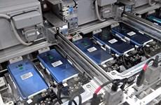 Une chaîne de fabrication de smarnie avoir transféré sa production de smartphones du Vietnam en Inde