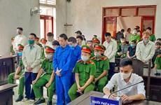 Sept personnes condamnées à mort pour trafic de drogue