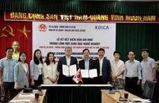 La KOICA soutient le Vietnam dans la formation professionnelle des personnes vulnérables