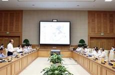 Le PM préside une séance de travail avec Ho Chi Minh-Ville