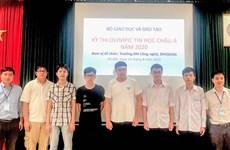 Le Vietnam remporte six médailles aux Olympiades d'informatique d'Asie-Pacifique 2020