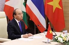 Le PM assiste à la 3e réunion des dirigeants de la coopération Mékong-Lancang
