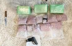 Démantèlement d'un réseau de trafic de drogue à Hanoi