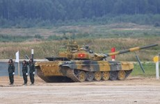 Army Games 2020 : le Vietnam remporte la deuxième place du groupe 2