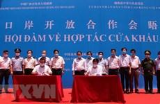 Cao Bang et Baise coopèrent sur les questions liées aux portes frontalières