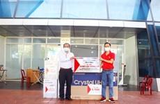 COVID-19 : Nguyên Kim fait don d'équipements aux hôpitaux de Dà Nang et Quang Nam