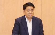 Le président du Comité populaire de Hanoi poursuivi et détenu