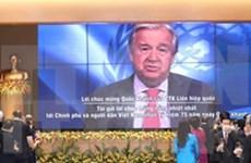 Le Secrétaire général de l'ONU António Guterres félicite le Vietnam à l'occasion de la Fête nationale