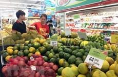 Les prix à la consommation en hausse de 3,96% sur un an