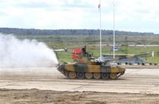 L'équipe de chars du Vietnam se qualifie pour les demi-finales des Jeux militaires internationaux 2020