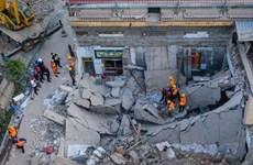 Message de sympathie à propos de l'effondrement d'un bâtiment dans la province chinoise du Shanxi