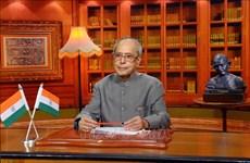 Condoléances suite au décès de l'ancien président indien Pranab Mukherjee