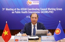 Le vice-ministre des AE Nguyen Quoc Dung participe à des réunions de l'ASEAN