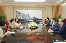 Le vice-PM Vu Duc Dam reçoit le directeur de l'ONUSIDA au Vietnam