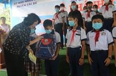 La vice-présidente visite les bénéficiaires des politiques à Tien Giang