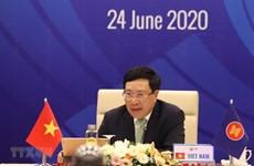 Les ministres des Affaires étrangères de l'ASEAN se réuniront par visioconférence