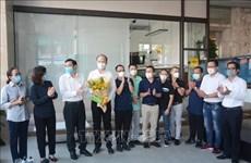 Da Nang: adieu à l'équipe de médecins de Ho Chi Minh Ville
