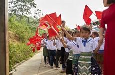 Une rentrée de joie pour les enfants ethniques minoritaires à Tuc Dan