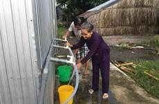 Kiên Giang : efforts pour l'alimentation en eau potable dans les communes littorales