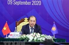 Le communiqué commun de l'AMM 53 reconnaît les initiatives et les propositions du Vietnam en 2020