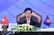 La 53 conférence des ministres des Affaires étrangères de l'ASEAN est toujours en cours
