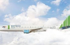 Bamboo Airways prend livraison d'un nouvel Embraer E195
