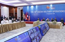 10e réunion des opérations militaires de l'ASEAN
