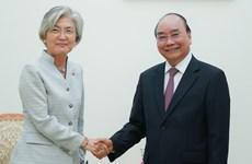 Le PM reçoit la ministre des Affaires étrangères de la République de Corée
