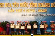 Le 5e Congrès d'émulation patriotique de la province de Khanh Hoa